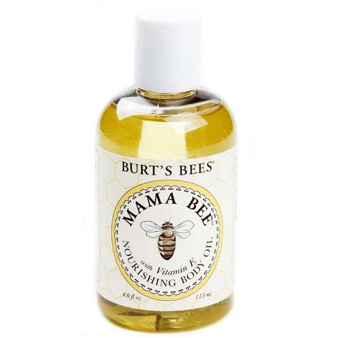 burt s burt s bees mama bee nourishing body oil with vitamin e