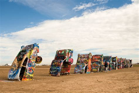 cadillac ramch five must see attractions on route 66 grown up travel