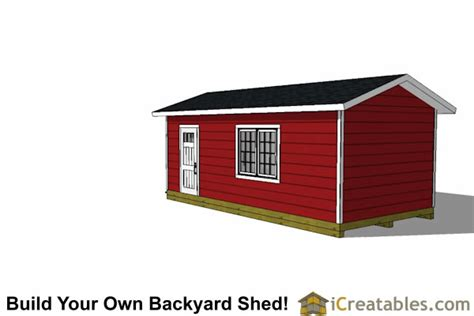 Storage Shed Plans 12x24 by 12x24 Garage Shed Plans Icreatables