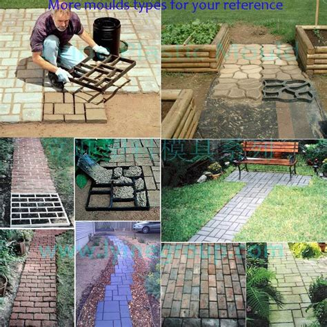 plastic pavers for patio lyine diy plastic driveway patio random concrete sting