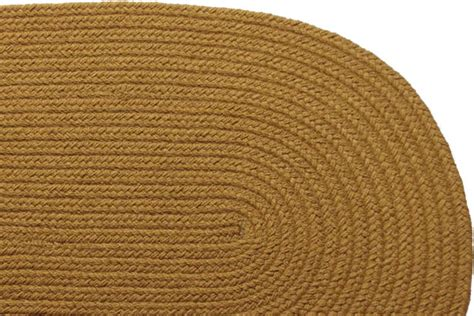 solid braided rugs solid new gold braided rug