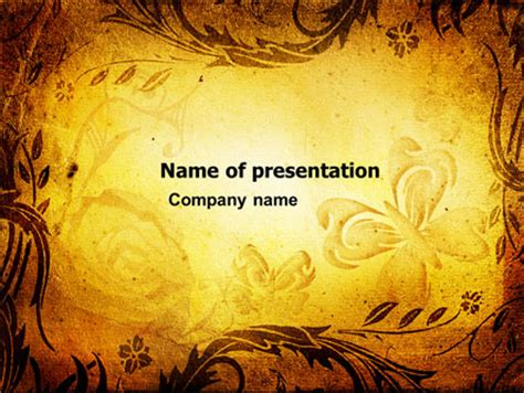 fairy tale presentation template for powerpoint and