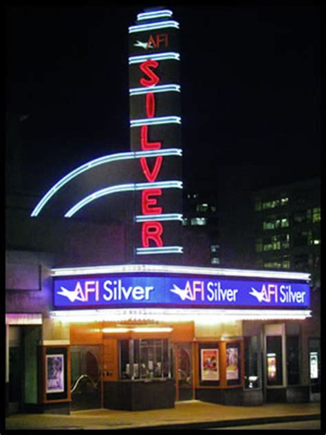 Afi Silver Calendar Afi Silver Theatre And Cultural Center