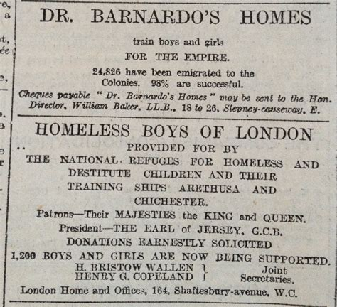 7 Reasons To Dr Houses Children by Olive Tree Genealogy Barnardo S Homes Photo Archives