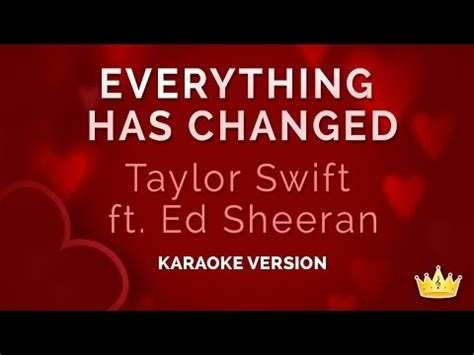 Download Mp3 Taylor Swift Feat Ed Sheeran Everything Has Changed | related video