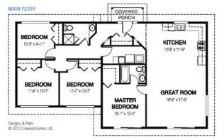 Simple Four Bedroom House Plans by Simple 4 Bedroom Home Plans Simple 4 Bedroom House Plans