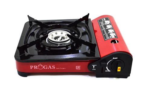 Jual Progas Kompor Portable Untuk Gas Kaleng Dan Elpiji 3k Berkualitas jual progas kompor portable untuk gas kaleng dan gas