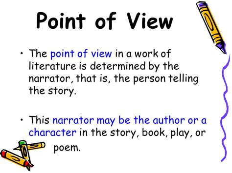 the color purple book point of view point of view ppt