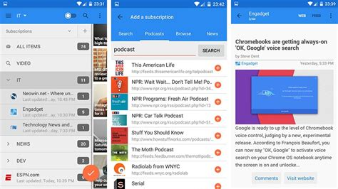 android rss reader 10 best rss reader apps for android android authority