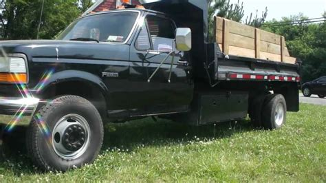 how cars engines work 1995 ford f350 lane departure warning sold 1995 ford f450 super duty 7 3l diesel mason dump truck for sale sold youtube