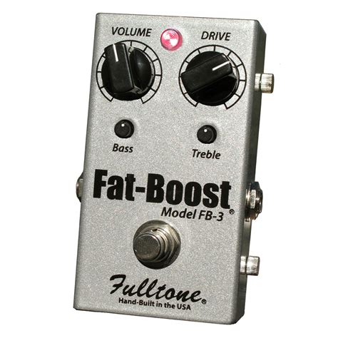 Sound Booster X Bass Power Tone Anti Jebol Led Fulltone Musical Products Inc Pedals Boost Fb 3