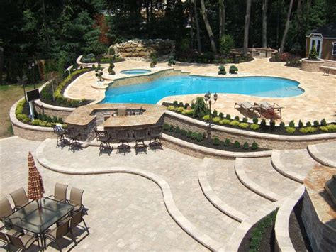 pool patio designs projects of plenty paver patio expansion