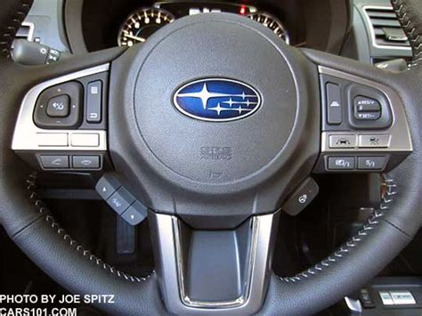 subaru forester steering wheel 2017 subaru forester interior photos