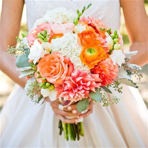 Wedding Bouquet York by Coral And White Bridal Bouquet W Studios New York