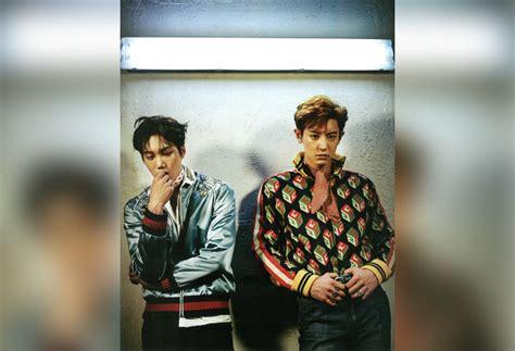 Setelan Denim Exo Berkualitas foto usung gaya gentleman hingga flower boy exo adu ganteng di vogue kabar berita artikel