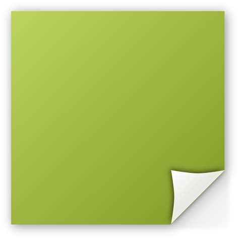 Post It Note Green Clip Post It Note Clip At Clker Vector Clip Royalty Free Domain