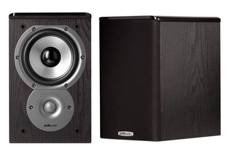 polk audio tsi100 2 way bookshelf speakers with 5 1 4