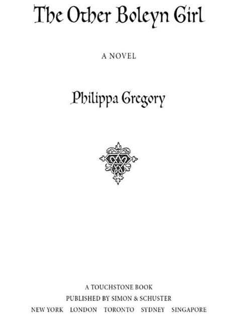 The Other Boleyn Girl (Philippa Gregory) » Read Online