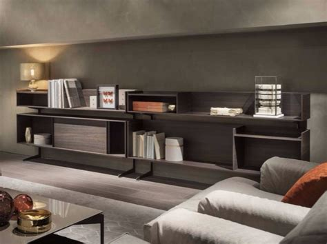 librerie brescia e provincia oak bookcase sideboard court yard by lema design