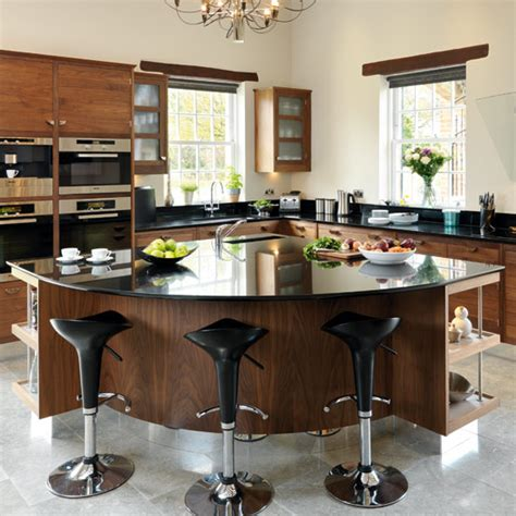 take a tour around a smart walnut kitchen ideal home