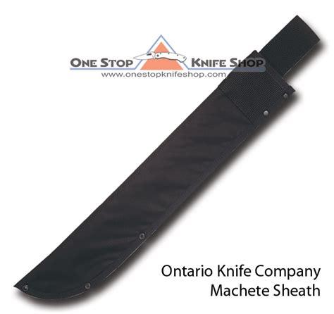 ontario machete sheath 2009 ontario bsh 22 quot machete sheath black
