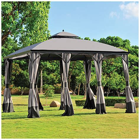 Big Lots Patio Gazebos Time To Wilson Fisher 174 10 X 12 Somerset Gazebo At Big Lots Get Your