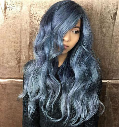 current color trends latest hair color trend denim hair quiet corner