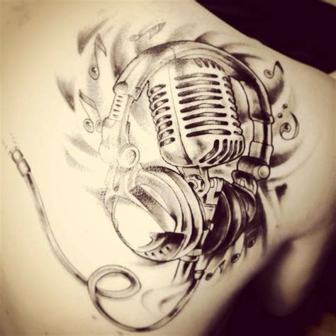 tattoo de microphone music mic tattoo designs google search tattoos that i