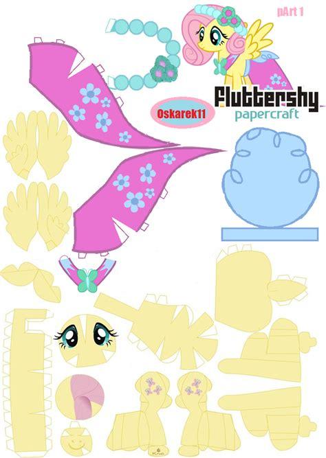 Papercraft My Pony - poniacze papercraft 蝴lub