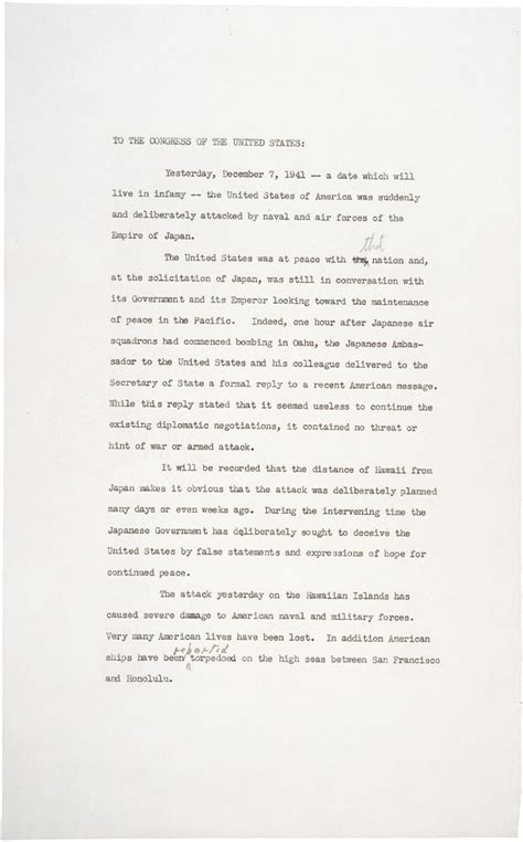 More On Battle Speeches 2 by Pearl Harbor Quotes Franklin Roosevelt Quotesgram