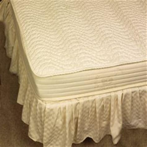 100 Cotton Mattress Pad King by Rest 100 Organic Cotton Mattress Pad Cal