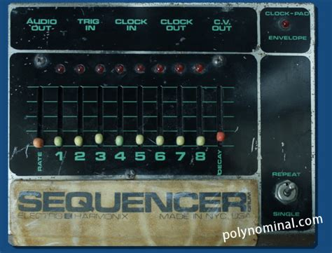 drum pattern electro electro harmonix drum sequencer