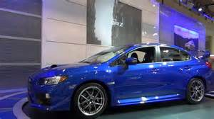 Subaru Rally Blue Motrface 4th Generation 2015 Subaru Wrx Sti World