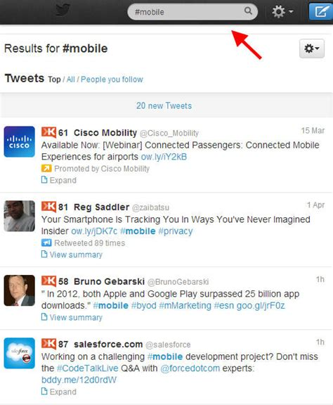 Search Peoples Tweets 5 Ways To Get More To See Your Tweets On