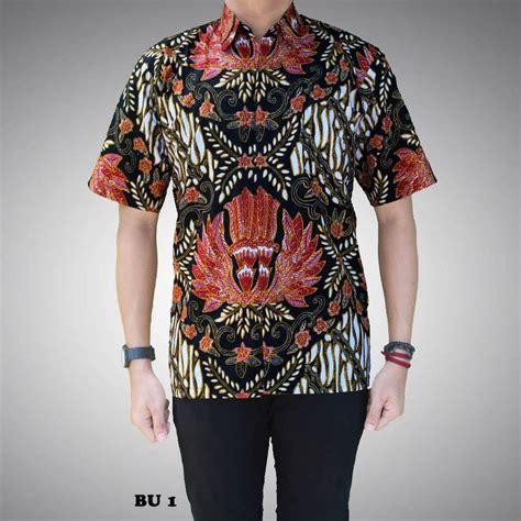 Kemeja Batik Kembang Hijau 1 kemeja batik pria motif kembang bu 1 batik prasetyo