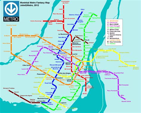 railway system map of mexico montreal canada fantasy metro rail system map by