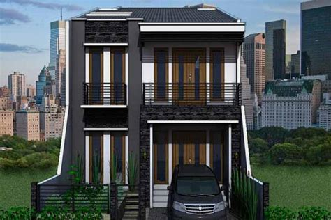 gambar desain rumah minimalis 2 lantai type 36 2017