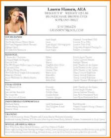 Sample Perfect Resume of perfect resume acting resume sample 12 example of perfect resume