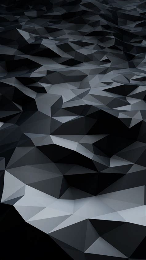 galaxy s4 wallpaper hd black download abstract black low poly hd wallpaper for galaxy