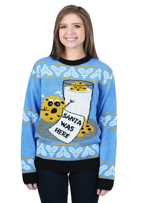 Cookie Sweater cookie hungry santa sweater