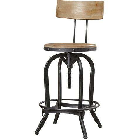 Swivel Bar Stools Adjustable by Trent Design Oria Adjustable Height Swivel Bar