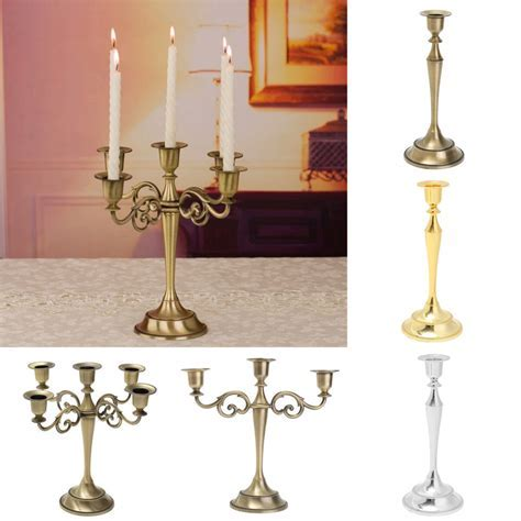 1/3/5 Arm Candelabra Wedding Centerpiece Table Decor