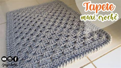 tapeten max max tapete croche sala aprendendo croche dahdit