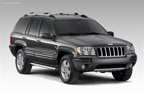Evolution Of Jeep Grand Jeep Grand Specs 2003 2004 2005 Autoevolution
