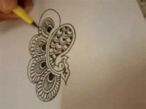 henna tattoo design tutorial henna mehndi design tutorial peacock 2nd design