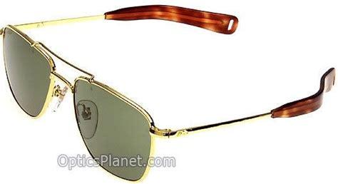 Sunglass Ao American Optical Skymaster Pilot Gold G Diskon rujax cor ao original pilot temples