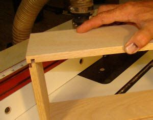How To Be A Drawer For Beginners by Create A Rabbeted Drawer Lock Joint Using A Slot Cutter