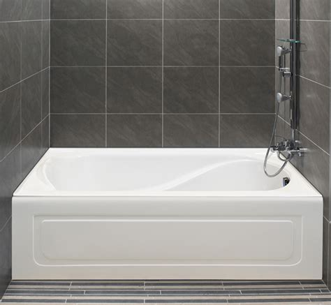 alcove in shower alcove s bathtub with integrated tiling flange and