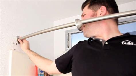 Corner Curtain Rods » Home Design 2017
