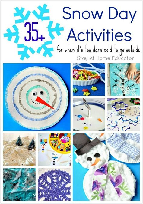 snow day crafts for 448 best images about seasonal winter activities for